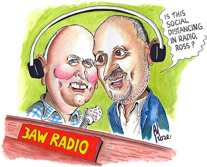3AW Breakfast Team