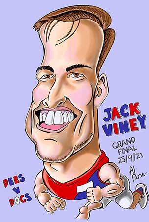 Jack Viney - Demons - 2021 AFL Grand Final