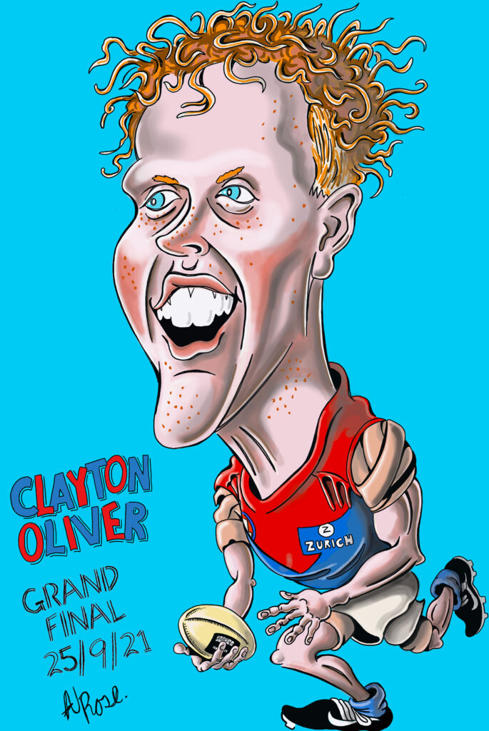 Clayton Oliver - Dees - 2021 AFL Grand Final