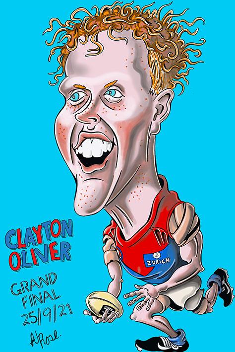 Clayton Oliver 2021 AFL GF
